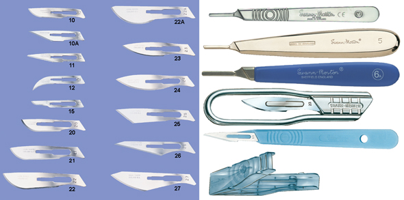 More info on Knives & Scalpels